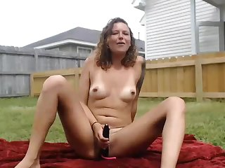 Housewife Gets Caught By Spying Neighbor