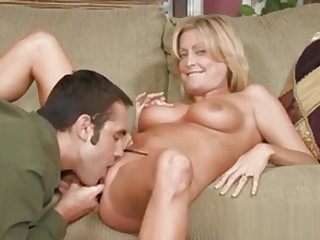 Hot Mom Welcomes Hard Dick To Enter Her Soaking Cunt