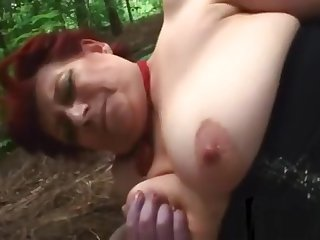 Busty Milf Pounded With Long Dick