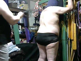 Mistress Jamie - Corporal Punishment Session Pt 01 4-13-2019