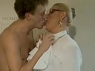 Big cock guy fucks a housewife secretary