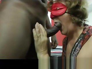 Brigitte A mature 62 year old made a porn casting