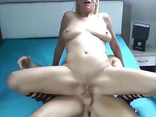 Mature MILF Likes First Sex With Young Guy For Last Two Year