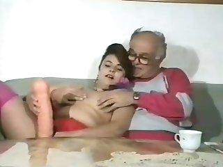 Tiny Tits Teen Fucks Grandpa 01