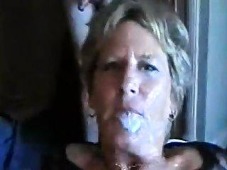 Mad group sex with bukkake
