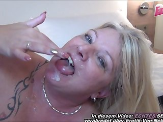 german mature mom first time casting in hotel