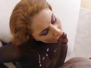 Roberta Gemma surrounding rough interracial sex scenes