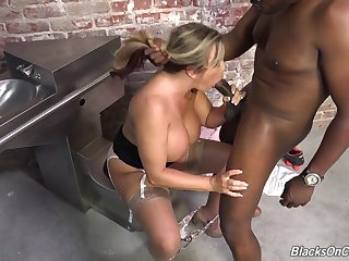 Correctional Officer Amber Lynn Bach is 1 rough slut. She's been C.O. for twenty-something years, and she's seen her share of African-Yankee masculines come and go from her holding tanks. She's always been secretly revved on by the youthful bulls she over