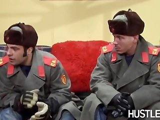 Lisa Ann Mature Shagged By Two Soviet Guys